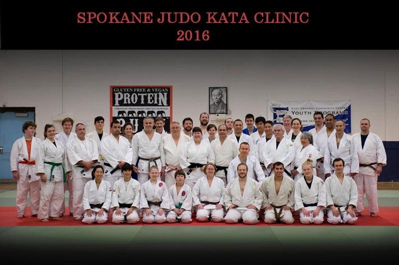 Nage No Kata Clinic group photo